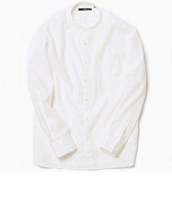 SC: オーガニックコットン バンドカラー シャツ
