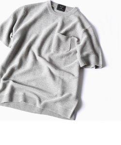 SC: SAFILIN リネン ニット Tシャツ