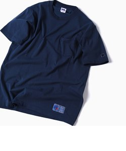 RUSSELL ATHLETIC×SHIPS: 別注 ユーズド加工 クルーネック Tシャツ