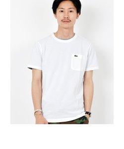 LACOSTE: カノコ ポケット Tシャツ