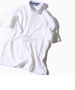 SC: COOLMAX(R) コットン/リネン カノコ ボタンダウン ポロシャツ