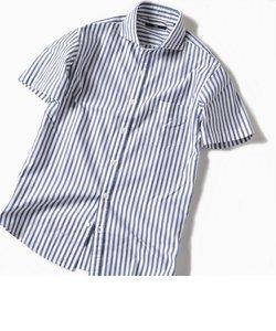 SC: カラミ セミワイドカラー ショートスリーブシャツ