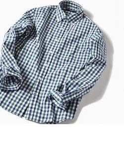SC: ドビー/ギンガムチェック ボタンダウン シャツ