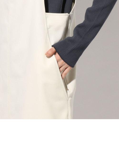 【手洗い可能】ジャンパースカート◇