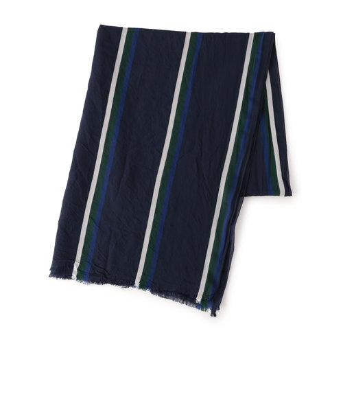 SD:【CANEPA 】ビスコース クラシック ストライプ2 スカーフ