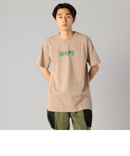 SU:【一部WEB限定カラー】SHIPSロゴ エンブロイダリー Tシャツ