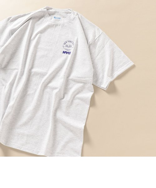 NYC: 別注 SEE YOUR CITY Tシャツ ライトグレー