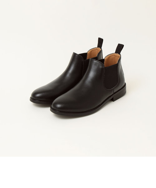 【SHIPS any別注】LABORER SHOES: WATERSPARKLE ショート サイドゴアブーツ
