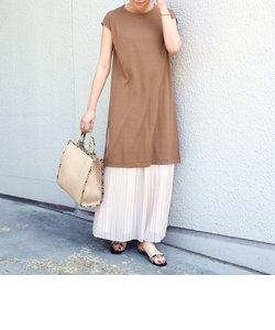 SHIPS any:TEEセットプリーツスカート