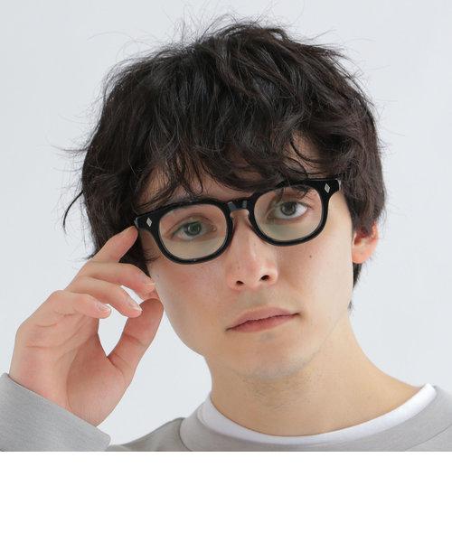 【Begin11月号 BB10 7位】【SHIPS any別注】銘品晴夫作: ALLEN セルロイド眼鏡◇