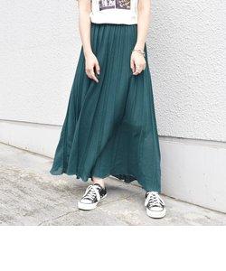 プリーツニットスカート◇