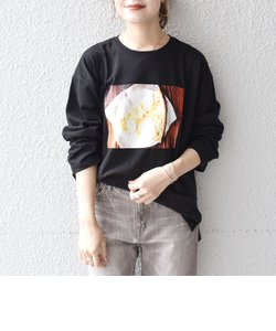 【WEB限定/SHIPS別注】ANNA MAGAGIZE×FRUIT OF THE LOOM:フォトロンTEE◇