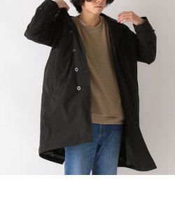 SHIPS any: リサイクル カシミヤ中綿 リラックス バルカラー コート