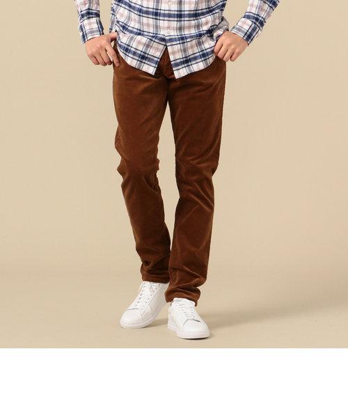 SHIPS: オイカワデニム縫製 カラー コーデュロイ 5ポケット パンツ