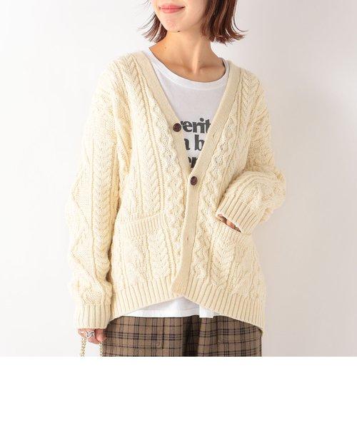 【SHIPS any別注】Oldderby Knitwear: ショート カーディガン