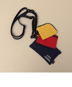 【WEB限定】SHIPS: COPYRIGHT ロゴ 3ポーチ ネック ストラップ