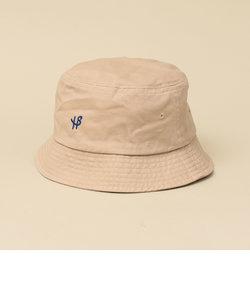 【WEB限定】SHIPS: ワンポイント ロゴ エンブロイダリー バケット ハット