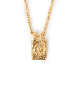 chibi jewels:MOONプレートネックレス