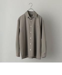 SHIPS: ウォッシャブル テックウール リラックスフィット レギュラーカラー シャツ