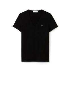 ワイドネックTシャツ (半袖)