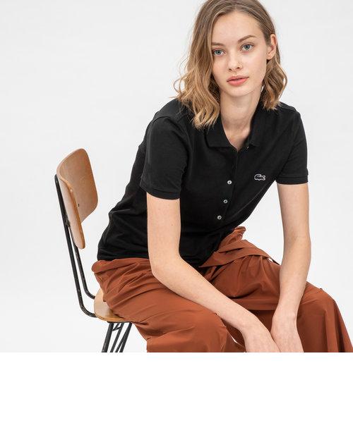 ストレッチピケスリムフィットポロシャツ(半袖)