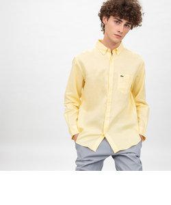 リネンボタンダウンシャツ