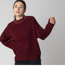 カシミアブレンドSUPER140s'ニットセーター