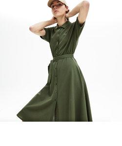 ベルトデザインポロドレス