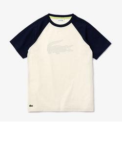 Boys ワニプリントラグランTシャツ