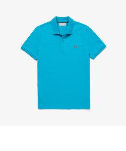 ジャガードロゴ襟ポロシャツ
