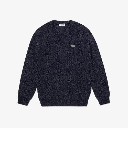 ミックスカラーニットセーター