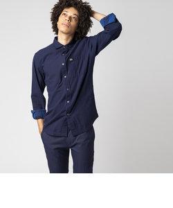 リバーシブルブロックチェックシャツ