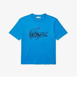 クロコロゴプリントTシャツ