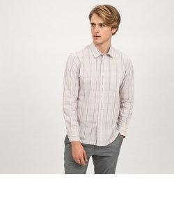 DFTグレンチェックシャツ長袖