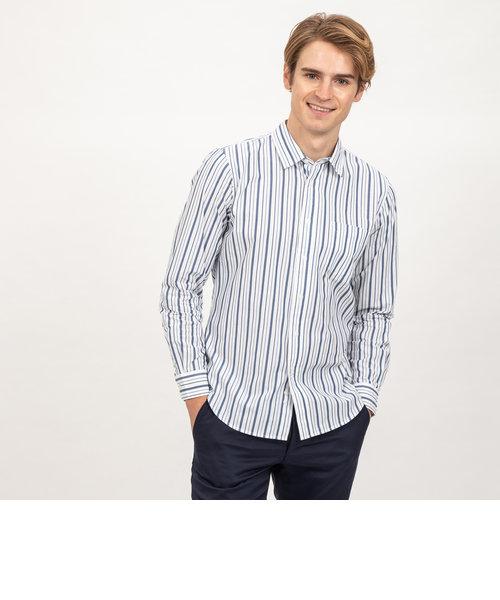DFTランダムストライプシャツ長袖