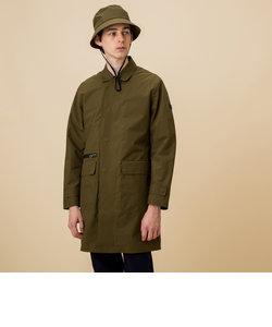 透湿防水 ステンカラー コート