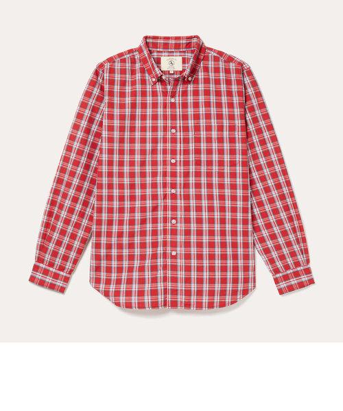 DFT オックスフォードチェックシャツ