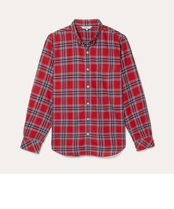 HW ビッグチェックシャツ