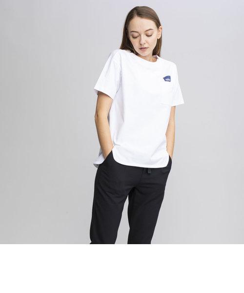 吸水速乾 デザインポケット ロゴ Tシャツ