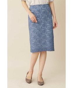 ◆[洗える]エレーヌレーススカート