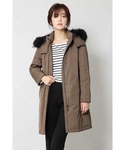 ◆ファー付中綿コート
