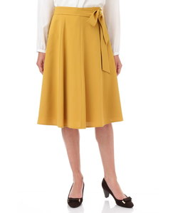 ◆リボン付はぎフレアスカート