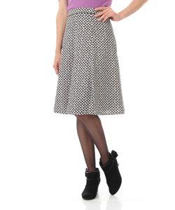 ◆リップスティックプリントフレアスカート