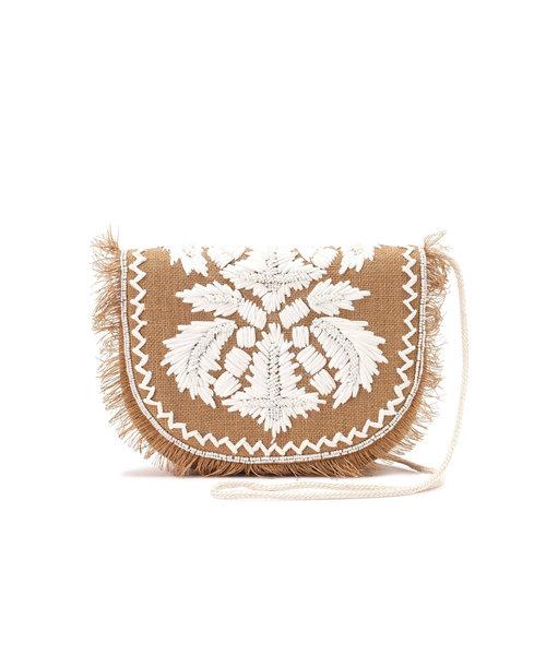 刺繍ビーズショルダーバッグ