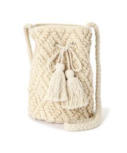 手織りジャガード巾着
