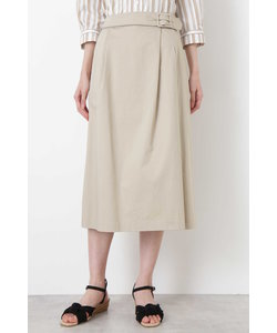 ◆スラブサテンタンブラースカート