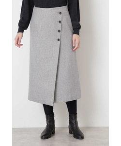 ◆撚杢ツィードスカート
