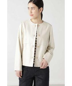 ◆綿麻ライトモールスキンジャケット