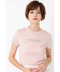 ◆グラフィックシリーズラメグリッターTシャツ