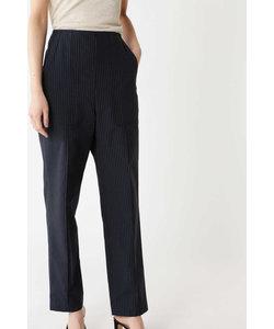 [ELIN]STRIPE HIGH WAIST PANTS